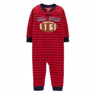 Пижама флисовая слип Carters All Star Red