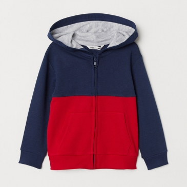 Толстовка H&M Dark Blue Red