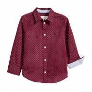 Рубашка для мальчика H&M Burgundy Dotted