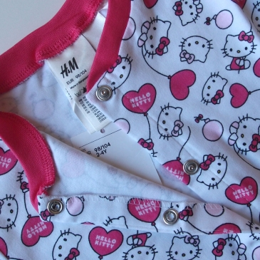 Пижама слип H&M Hello Kitty