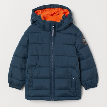 Куртка с водоотталкивающим покрытием H&M Blue Orange